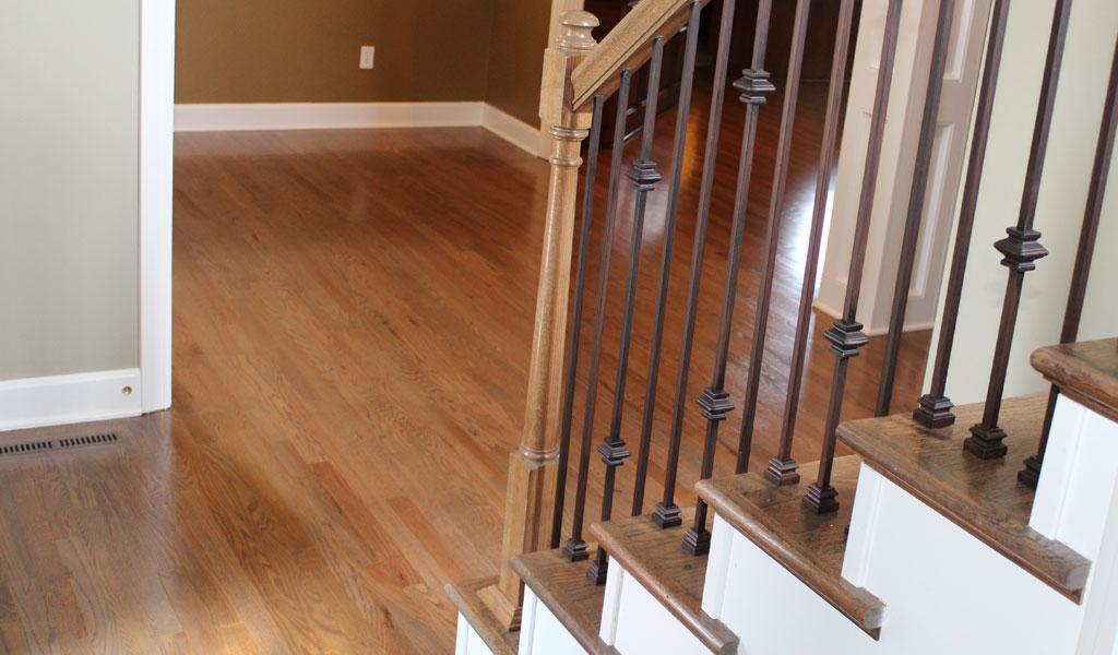 Satin Hardwood Floor Finish